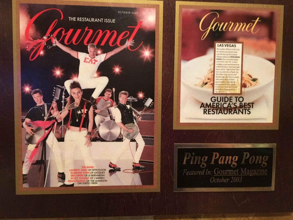 Gourmet Magazine Cover Best Restaurants